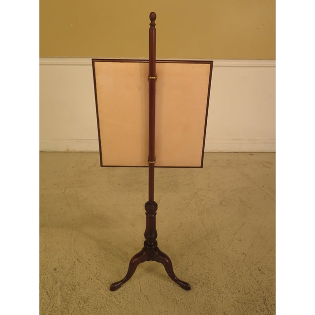 Kittinger CW-92 Colonial Williamsburg Mahogany Fire Screen - Image 6 of 11