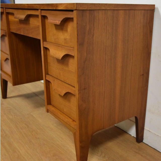 Johnson Carper Walnut & Formica Desk - Image 4 of 9