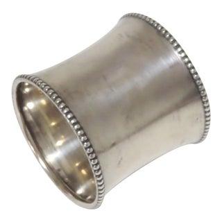 Antique Oversize Gorham Sterling Silver Napkin Ring For Sale