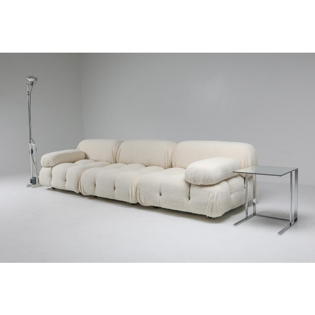 Mario Bellini Camaleonda Bouclé Wool Sectional Sofa by Mario Bellini For Sale - Image 4 of 8
