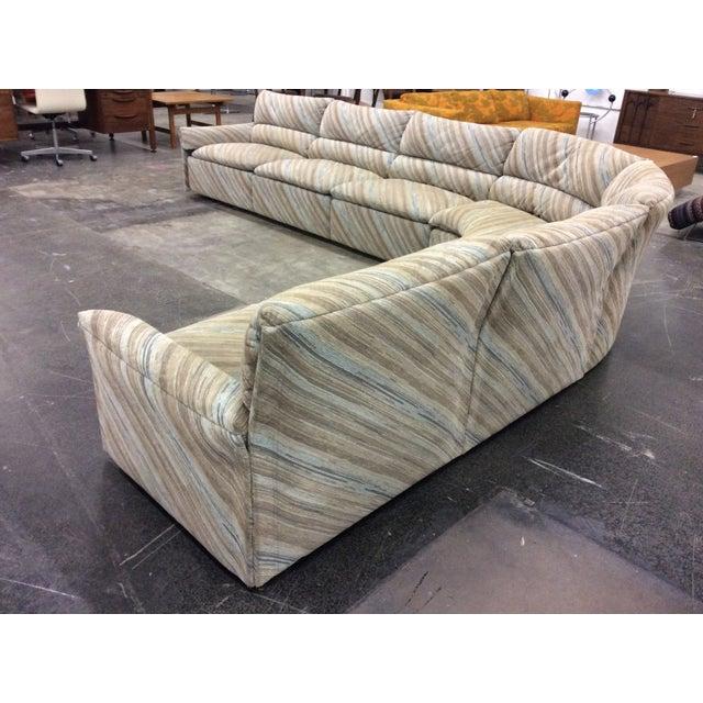 Italian Saporiti Italia Six-Piece Sectional Sofa For Sale - Image 3 of 11