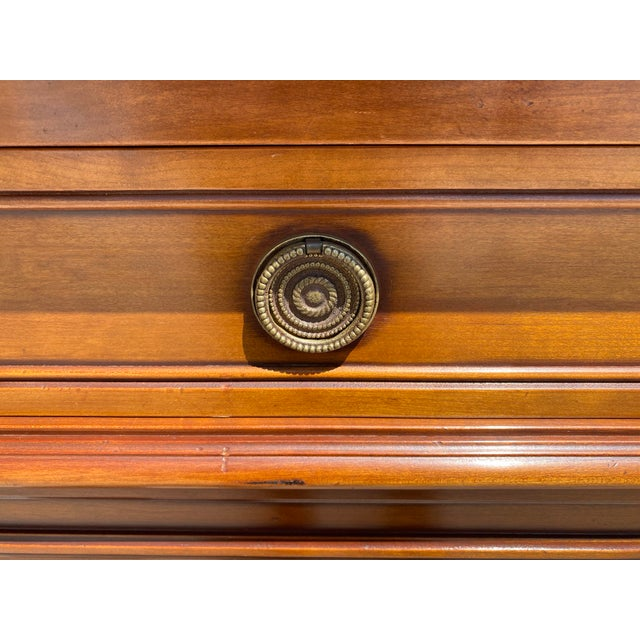 French Louis XVI Style Fruitwood Sideboard For Sale In Austin - Image 6 of 11