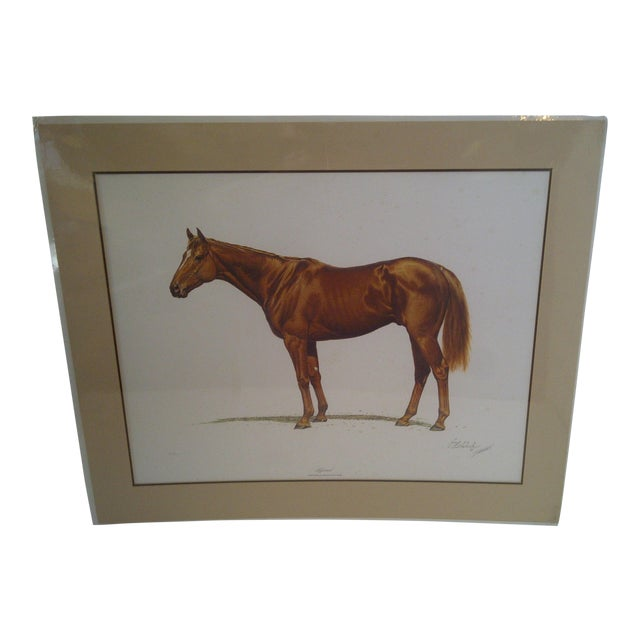 1978 Triple Crown Winner, Limited Edition Print For Sale