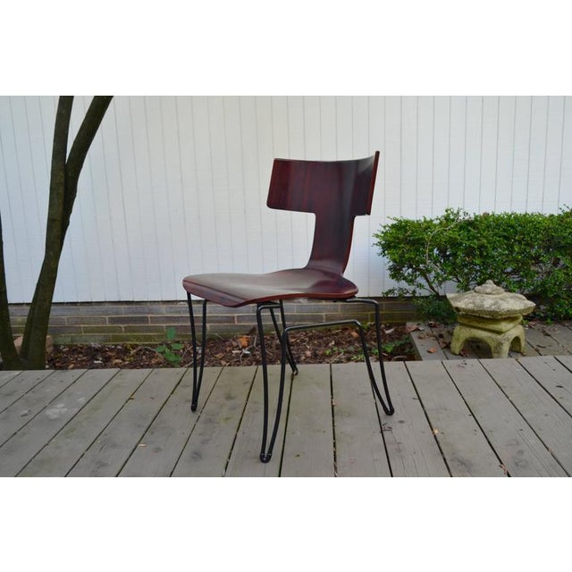 Donghia Anziano Dining Chairs by John Hutton for Donghia For Sale - Image 4 of 10