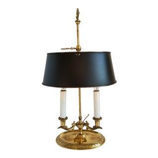 Vintage Frederick Cooper Bouillote Desk Lamp For Sale