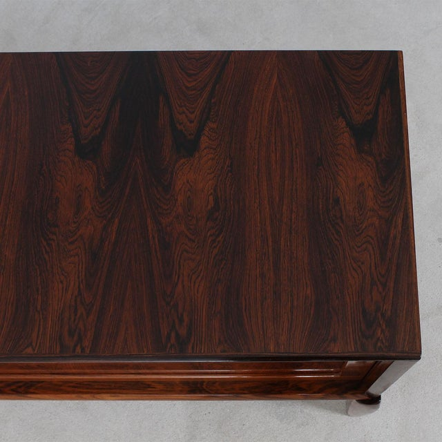 HW Klein Rare Danish Modern Sideboard by HW Klein in Rosewood For Sale - Image 4 of 11