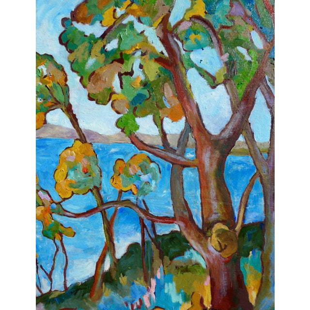 Monumental - Santa Barbara Hills Oil Painting Framed For Sale In Los Angeles - Image 6 of 8