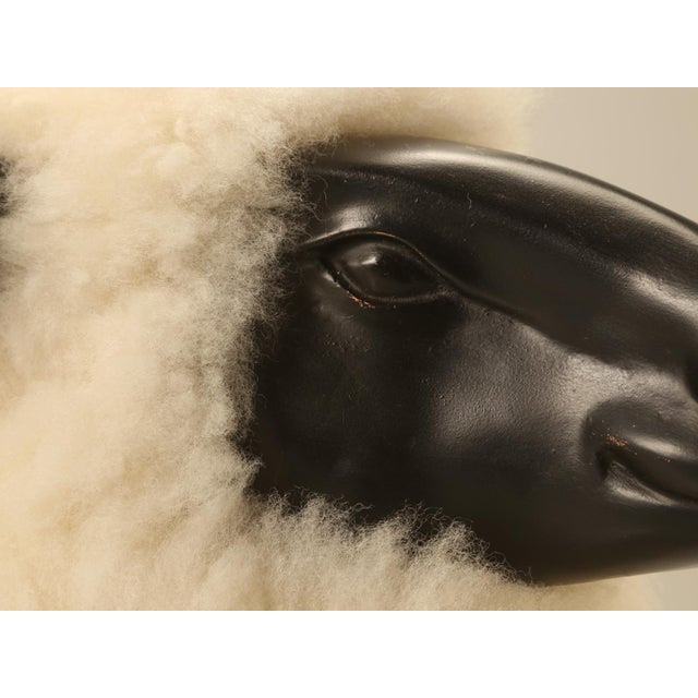 Baby Lamb Hand Made by Old Plank Collection For Sale - Image 5 of 11