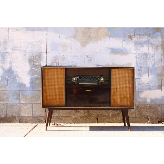 Mid-Century Modern Mid Century German Emud Stereo Console For Sale - Image 3 of 11