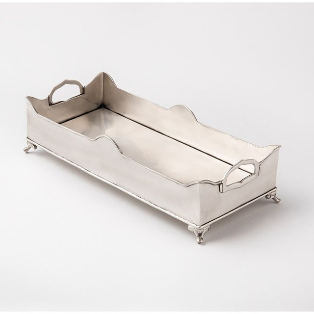 Chester Footed Tray With Handles - Image 2 of 5