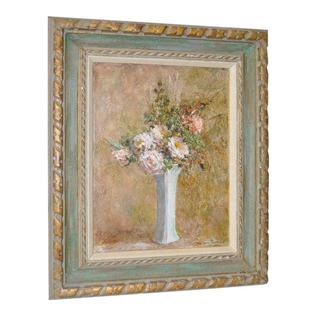 Troy Ruddick Vintage Floral Still Life Painting, C.1965 - Image 1 of 7