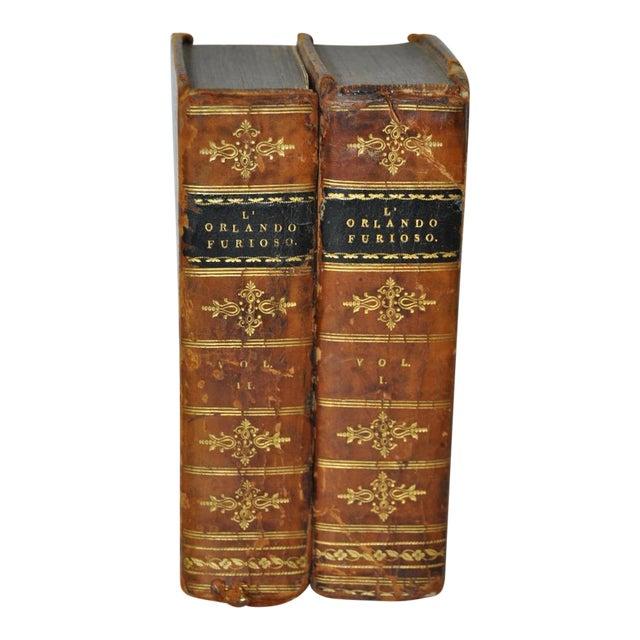 """Circa 1823 Ludovico Ariosto """"L' Orlando Furioso"""" Vol 1 & 2 For Sale"""