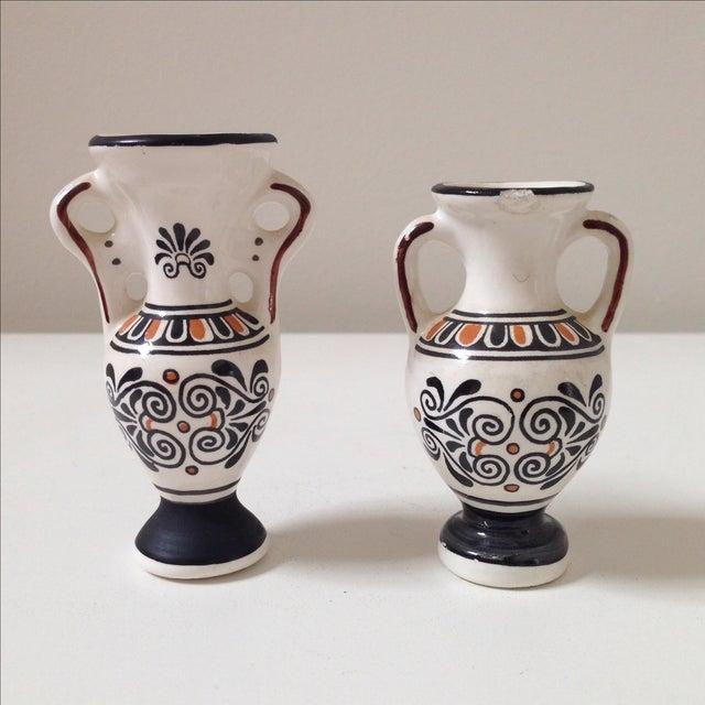 Small Greek Ceramic Vases - A Pair - Image 2 of 11