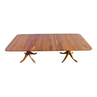 Traditional L.& j.g Stickley Fayetteville Cherry Valley Duncan Phyfe Dining Room Table For Sale