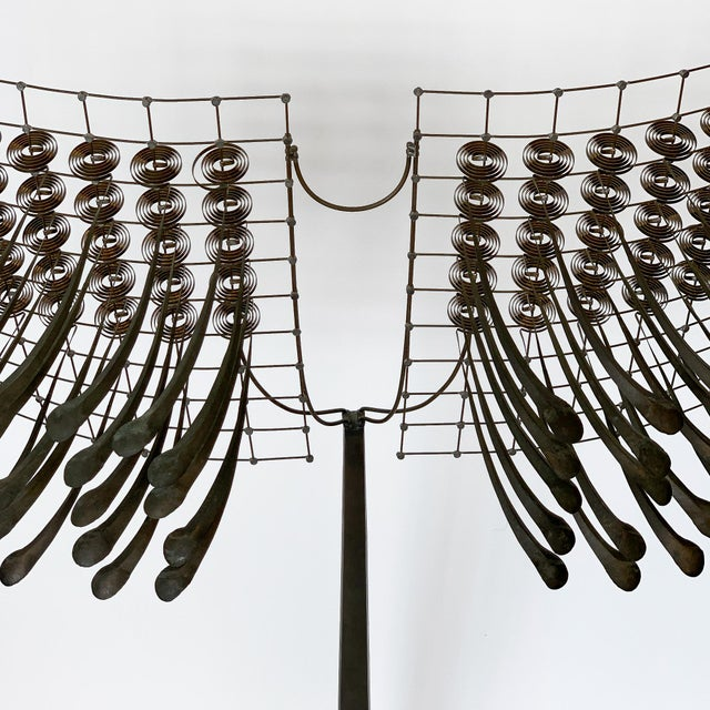 Bronze Christoph Bollinger Abstract Kinetic Sculpture For Sale - Image 7 of 13