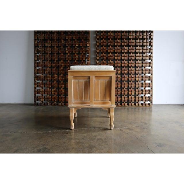 "Tan John Hutton ""Thebes"" Chair for Randolph & Hein Circa 1976 For Sale - Image 8 of 12"