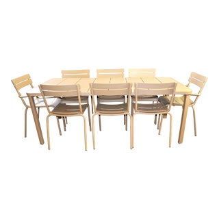 Fermob Luxembourg Dining Set- 9 Pieces For Sale