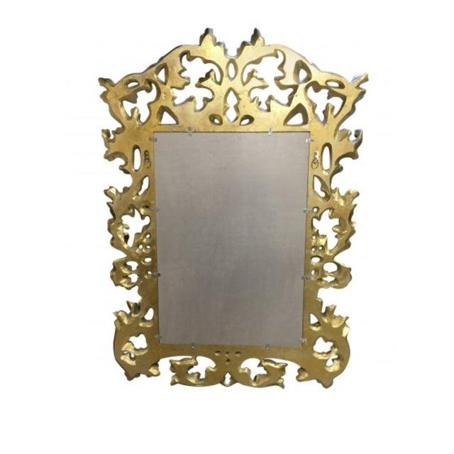 Mid-Century Modern 1900s Mid-Century Modern Lawson Fenning Gilt Carved Mirror For Sale - Image 3 of 6