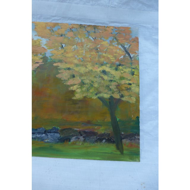 MCM Painting of New England Trees by H.L. Musgrave - Image 5 of 6