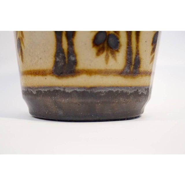 Ceramic Primavera Glazed Ceramic Vase For Sale - Image 7 of 9