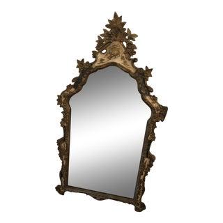 Italian Chinoiserie Pagoda Mirror For Sale