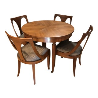 Mid-Century Dining Table & Chairs by Kindel - Set of 5