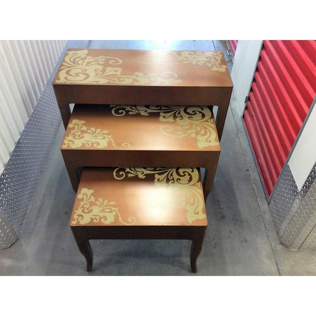 Contemporary Nesting Tables - Set of 3 - Image 6 of 8