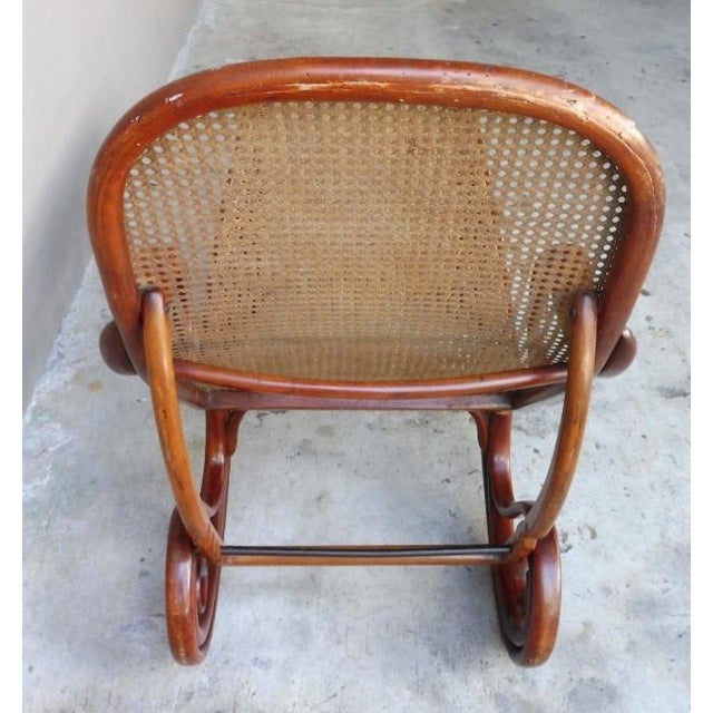 Early 20th Century 20th Century Mid-Century Modern Thonet Chaise Lounge Chair For Sale - Image 5 of 13