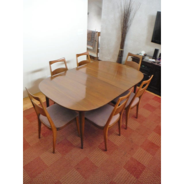 Heywood-Wakefield Solid Cherry Dining Set - Image 2 of 11