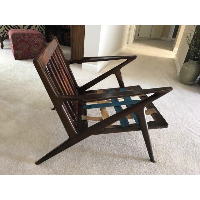 Selig Danish Modern Z Chair For Sale In Sacramento - Image 6 of 8