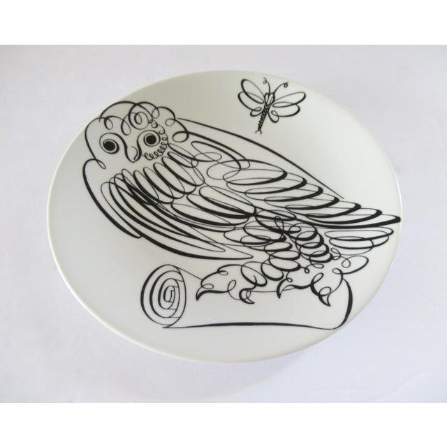 Piero Fornasetti Uccelli Calligrafici Bird Plate #6 C.1962 For Sale - Image 13 of 13