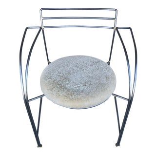 French Modern Chair by Pascal Mourgue For Sale