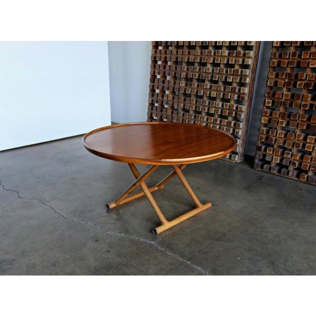 1950s Danish Modern Mogens Lassen for A.J. Iversen Center Table For Sale - Image 11 of 13