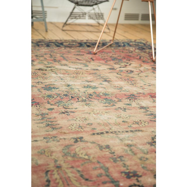 Antique Yazd Carpet - 8' x 10' - Image 9 of 10