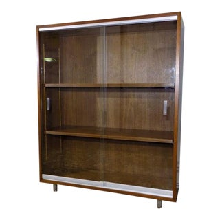 1960s Vintage Nucraft Bookcase Grand Rapids, MI For Sale