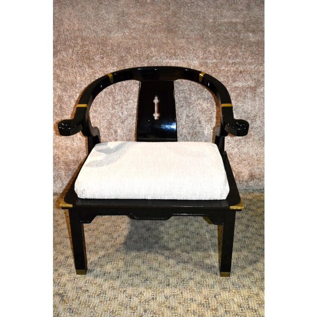 Asian 1980s Pallavisini Asian Style Italian Chair For Sale - Image 3 of 12