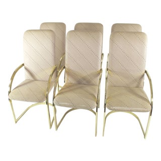 Milo Baughman Design Institute of America Dining Chairs - Set of 6