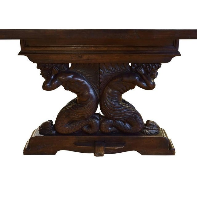 Heavily Carved Table from Italy - Image 4 of 6