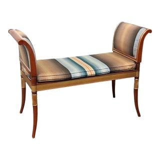 Regency Style Window Bench For Sale