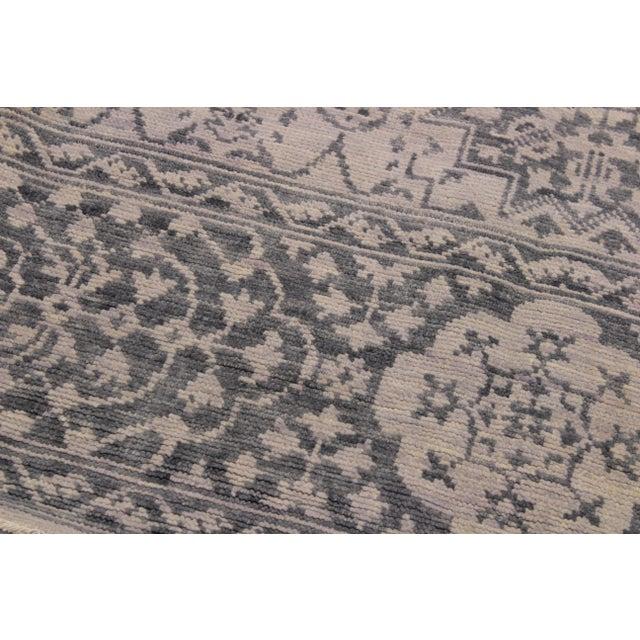 2010s Mamluk Oushak Charmain Wool Rug - 9′1″ × 12′4″ For Sale - Image 5 of 6