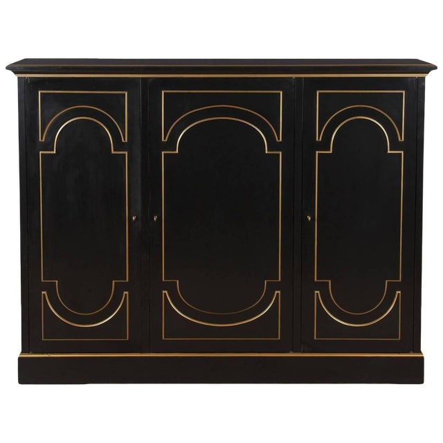 Neoclassical Maurice Hirsch Cabinet, 1950s For Sale