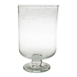 Kenneth Ludwig Chicago Medium Bubble Glass Hurricane For Sale