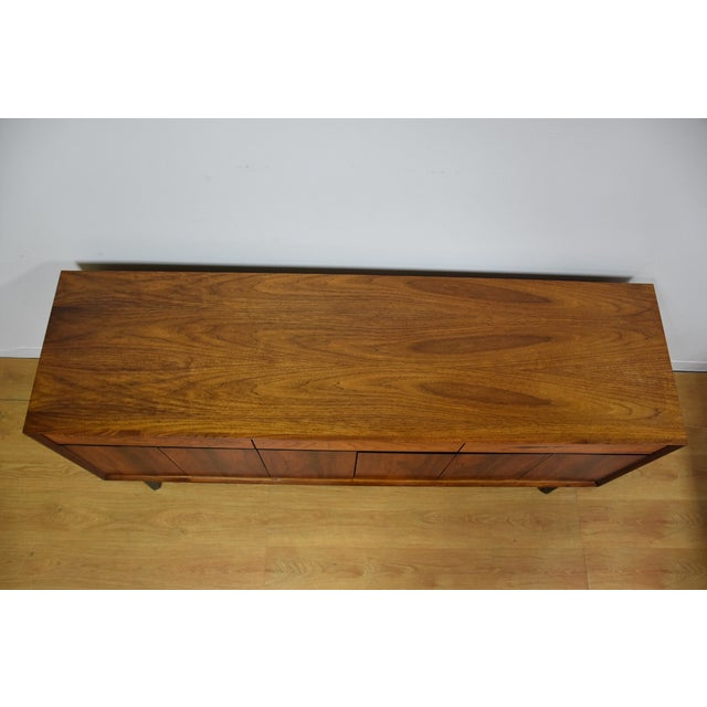 Mid-Century Rosewood and Walnut Credenza - Image 7 of 11