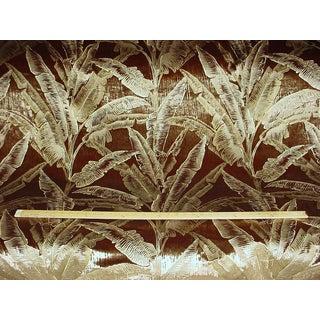Kravet Couture Cleopatra Umber Silk Velvet Drapery Upholstery Fabric For Sale
