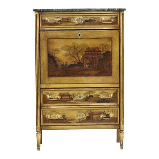 19th Century Chinoiserie Secretary For Sale