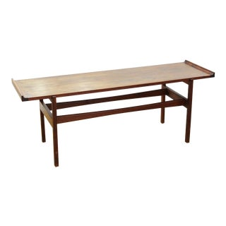 Jens Risom Mid-Century Modern Coffee Table or Low Bench For Sale