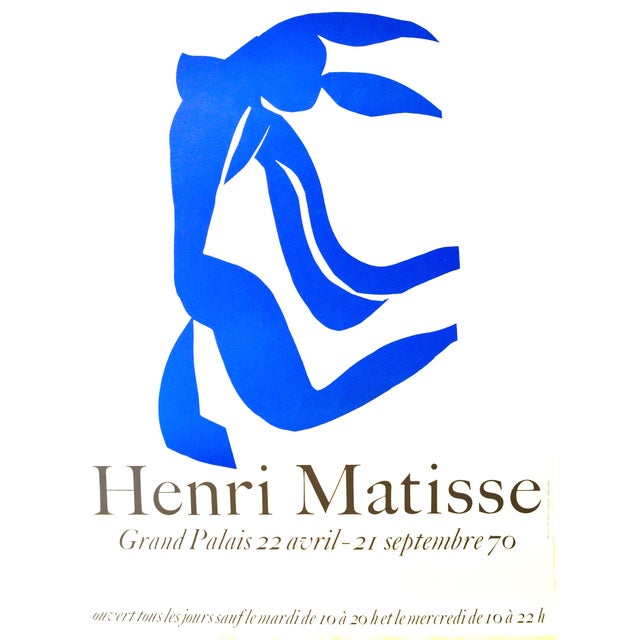 Matisse Grand Palais Exhibition Poster, 1970 - Image 1 of 3
