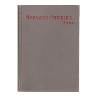 "1895 ""Harvard Stories: Sketches of the Undergraduate"""
