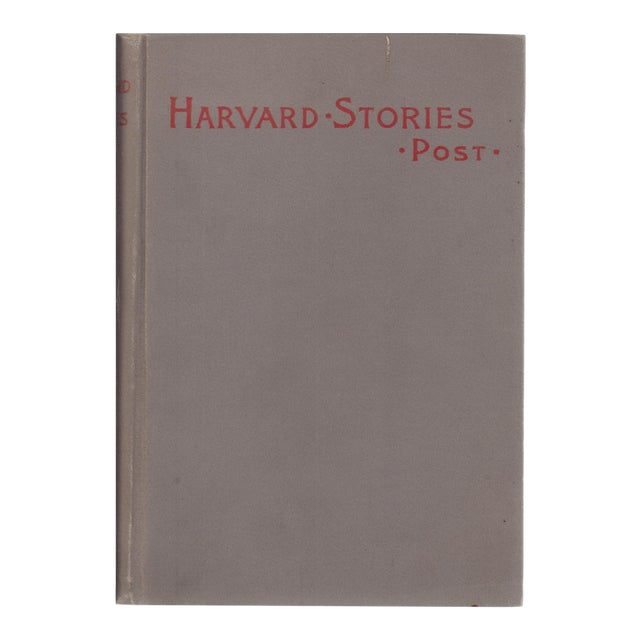 "1895 ""Harvard Stories: Sketches of the Undergraduate"" For Sale"