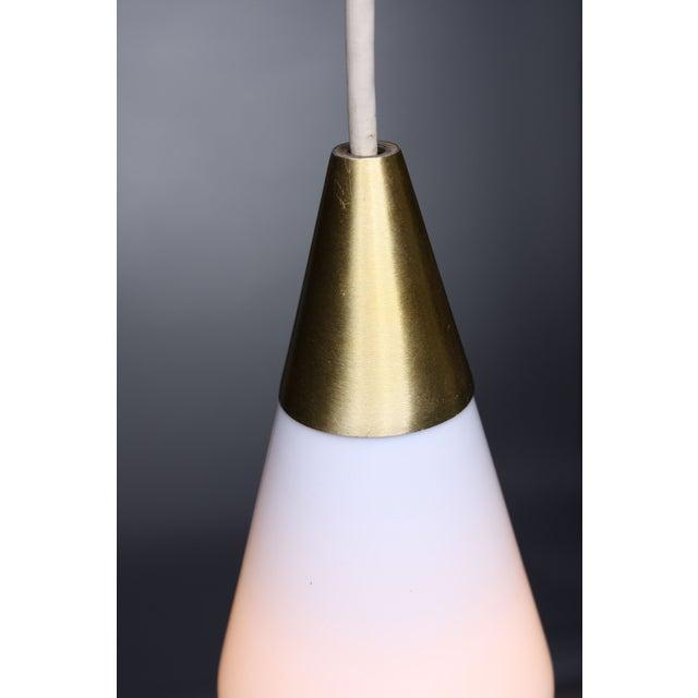 Mid-Century Glass Pendant - Image 3 of 5